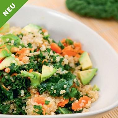 Grünkohl-Quinoa-Salat