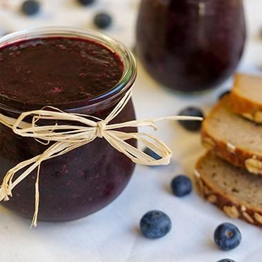 Heidelbeer-Chia-Marmelade