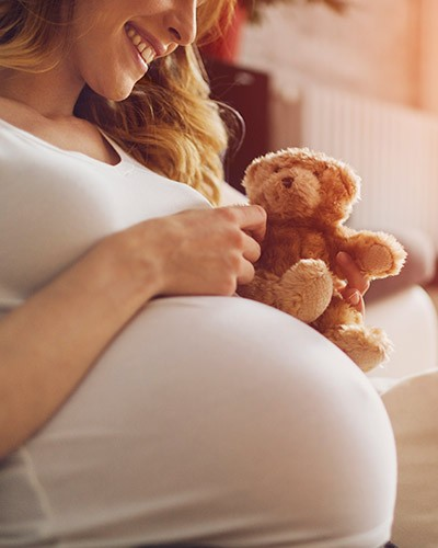 Vertrauensvoll in die Geburt